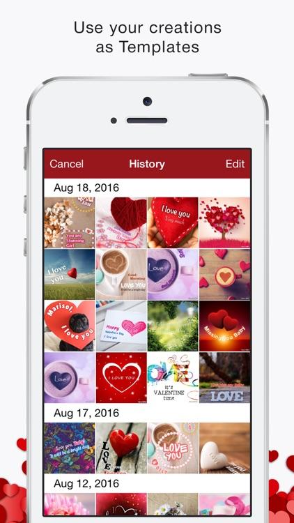 Love Greeting Cards Maker screenshot-3