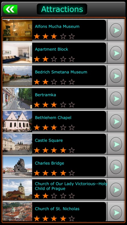 Prague Offline Map Travel Guide