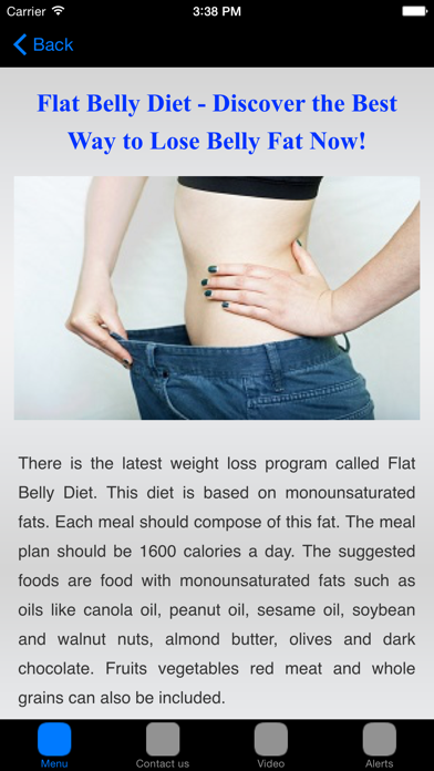 Flat Belly Diet & Fat Burning Foods For Flat Tummy screenshot four