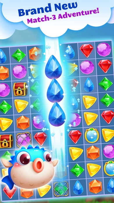 Jewel Splash Dash Edition - Brand New Match 3 Game-0