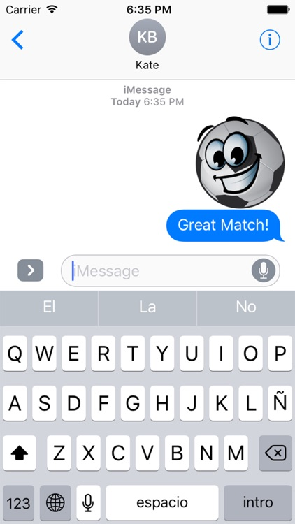BallMoji - Soccer Stickers Football