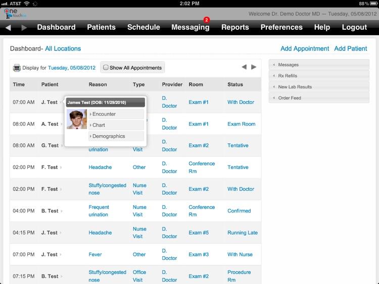 OneTouch EMR screenshot-3