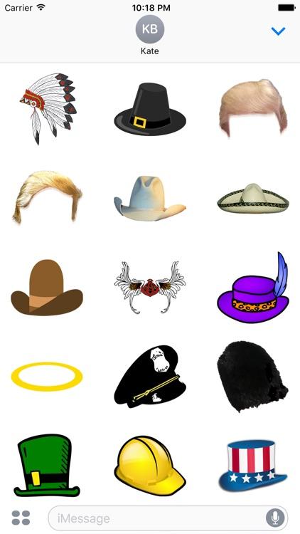 Hat Sticker Pack - Fun