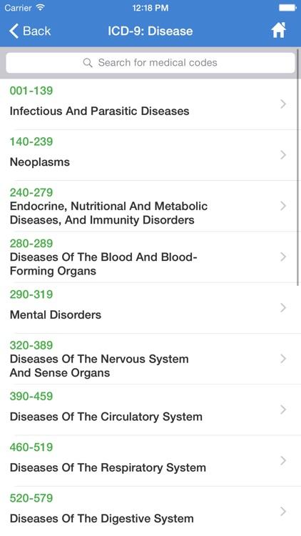 ICD-10 HCPCS ICD-9 screenshot-4