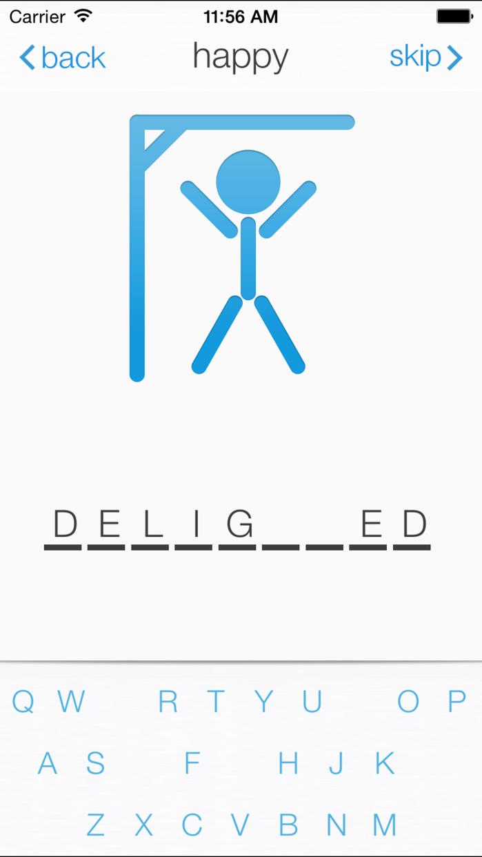 Hangman∙ Screenshot