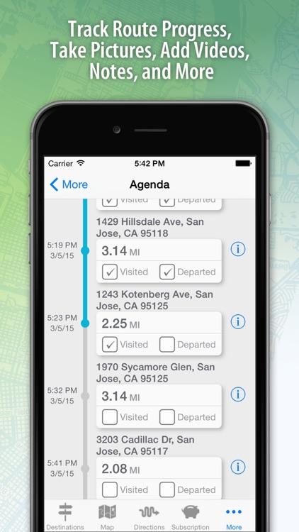 Route4Me Route Planner app image