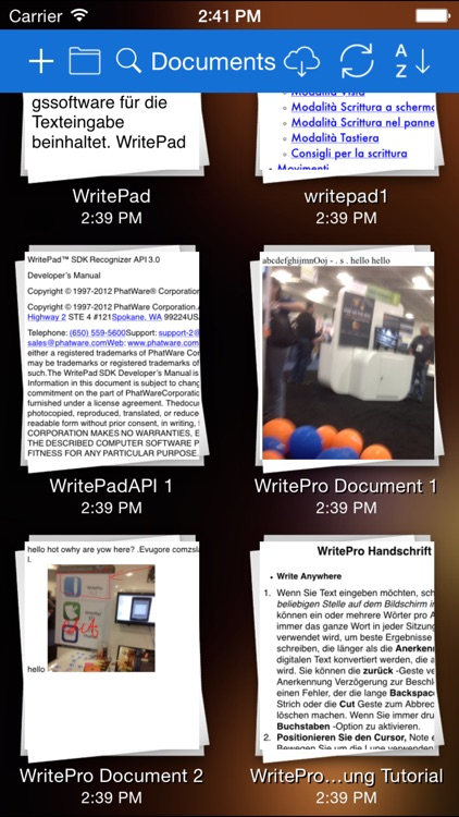 WritePad Professional screenshot-4