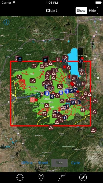 Eldorado National Forest – Offline Map Navigator