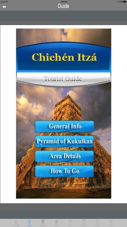 Chichen Itza Mexico Tourist Travel Guide screenshot-3