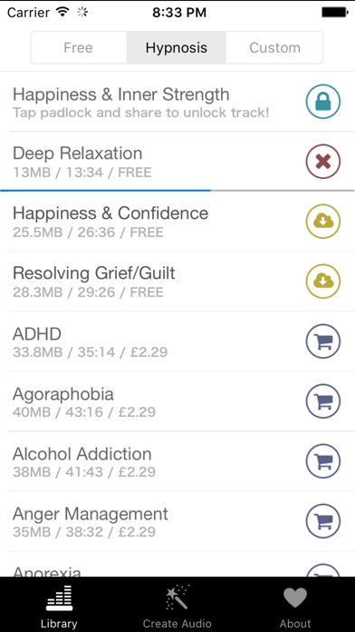Free Hypnosis review screenshots