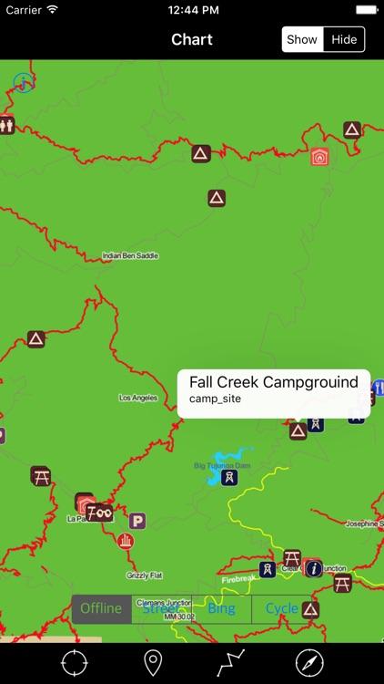 Angeles National Forest – Offline Map Navigator