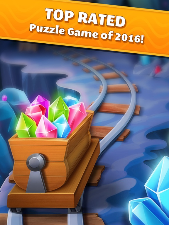 Jewel Splash Dash Edition - Brand New Match 3 Game-ipad-3