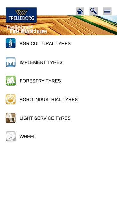 Trelleborg Tire iBrochureScreenshot von 1