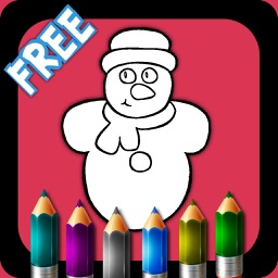 Christmas. Coloring books for kids. Free