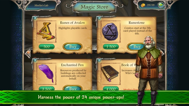 Avalon Legends Solitaire 2 screenshot-4
