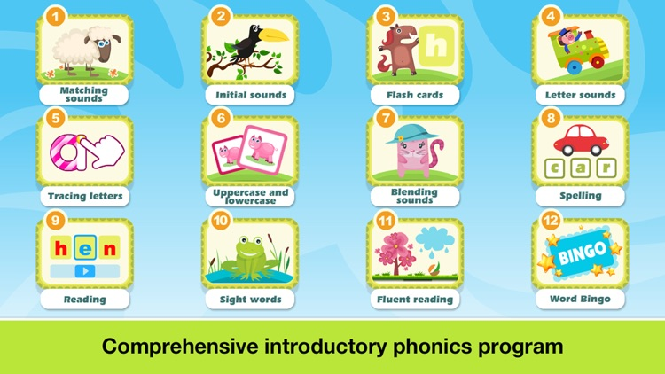 Phonics Farm Letter sounds school & Sight Words screenshot-1