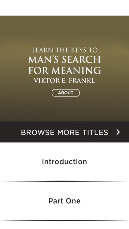 Man's Search For Meaning Viktor Frankl Meditations