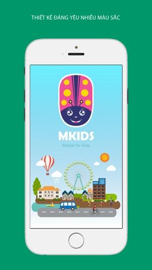 MKIDs – Điện thoại dành riêng cho trẻ em