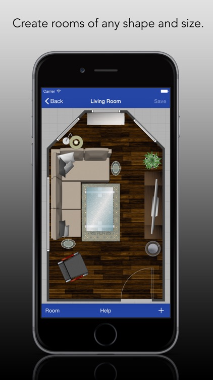 Rooms Pro - Create Room Layouts With Ease screenshot-0
