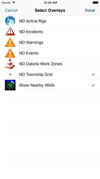 WellSite Navigator North Dakota app image