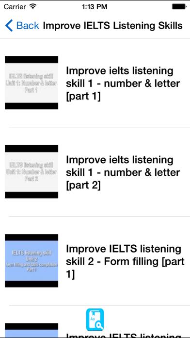 IELTS Listening Section Test Samples Tricks Skils screenshot three