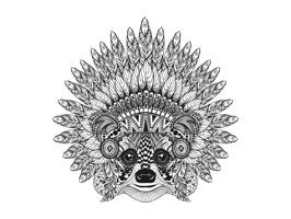 Welcome to the world of Tangle Art, where intricate and highly ornate patterns manifest themselves through all familiar forms