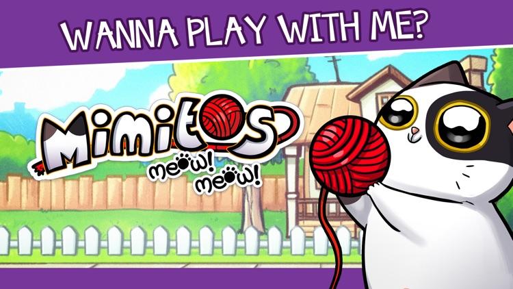 Mimitos Cat - Pet & Minigames