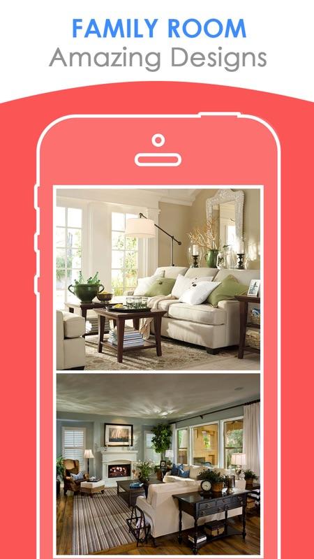 Family Room Designs   FREE Interior Design Styler
