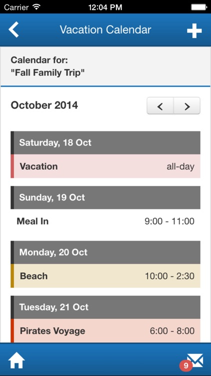 Sandcastle Vacation Planner