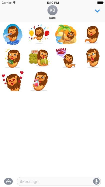 Merlion Stickers