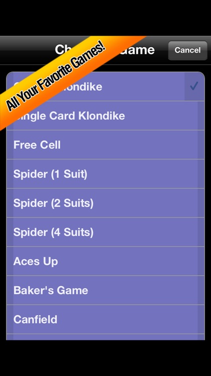 Solitaire Favorites screenshot-1