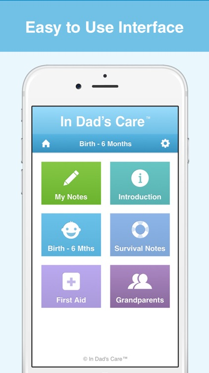 In Dad's Care - Essential Baby Care for new Dads screenshot-3