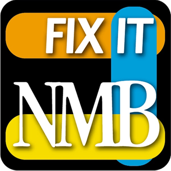 The logo of Fix It NMB, an app and portal on the City of North Miami Beach's website, allows residents to instantly report various issues they encounter throughout the city. (Image courtesy of the City of North Miami Beach)