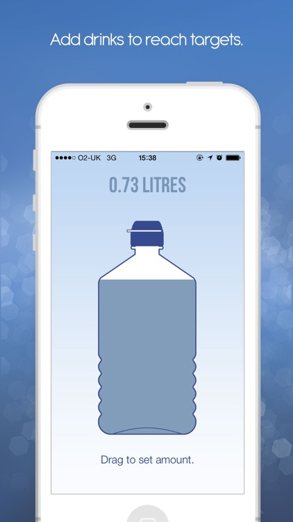 iDrated Water - Track and log your hydration