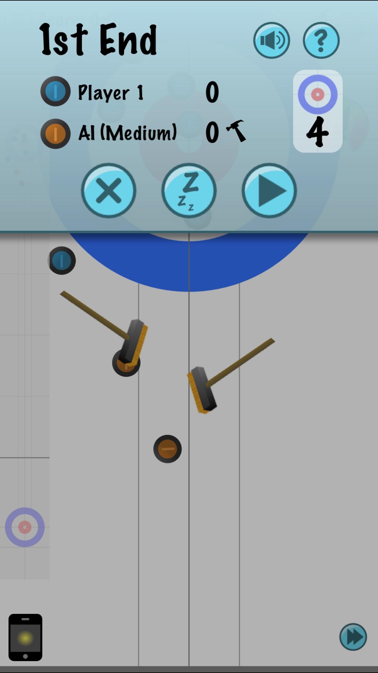 Screenshot do app The Last Rock Curling