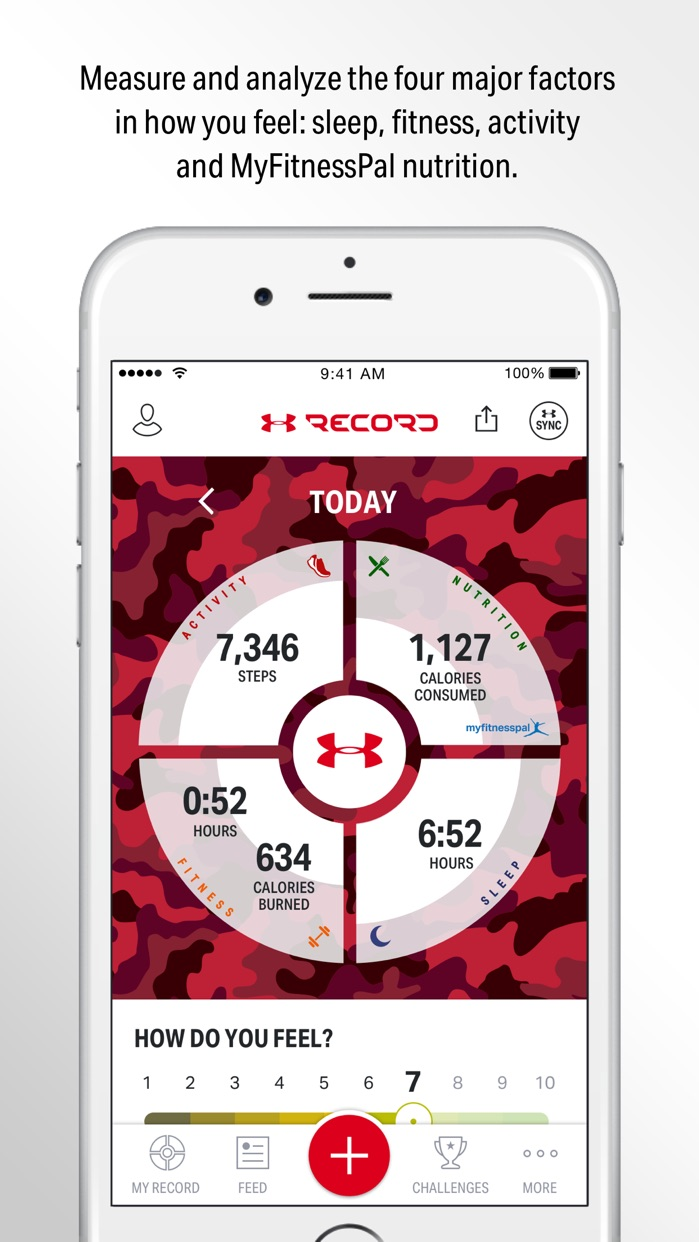 Record by Under Armour Screenshot
