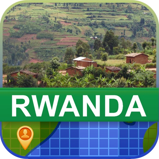 Offline Rwanda Map - World Offline Maps