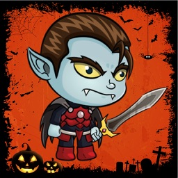 Hunter Jump: Adventure Halloween of Tiny Dracula