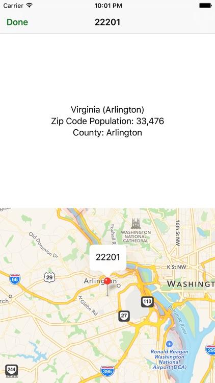 Zip Codes screenshot-3