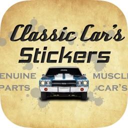Classic Car's Stickers