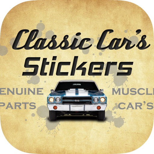Classic Car's Stickers