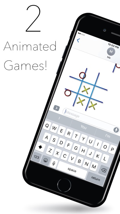Animated iMessage Games