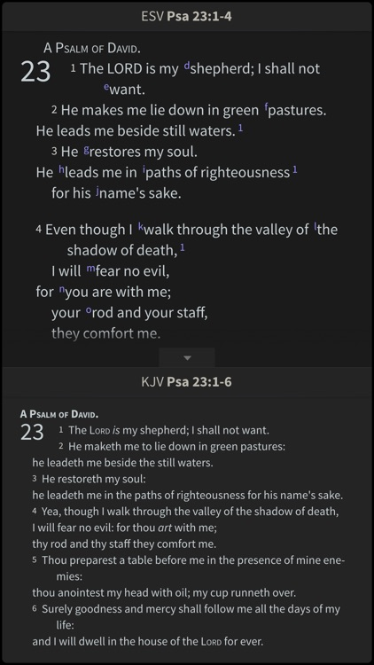 NASB Bible Study Library screenshot-2