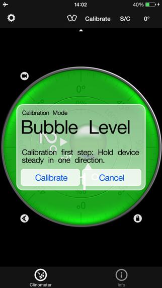 niveau à bulle & clinomètre