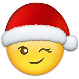 Christmas Stickers - Holiday Emoji