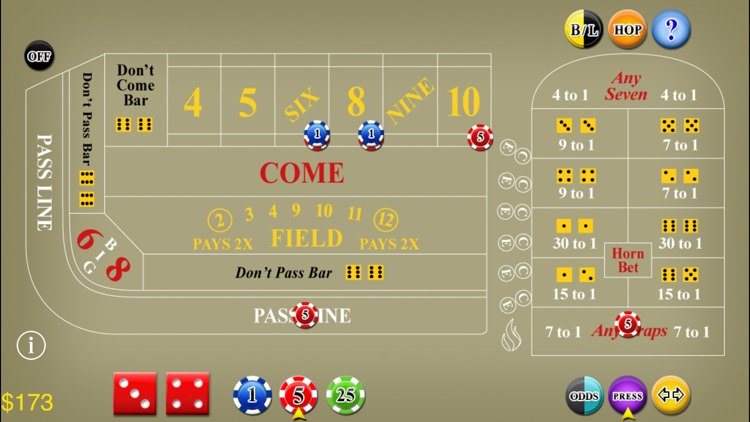 Craps Lite screenshot-1