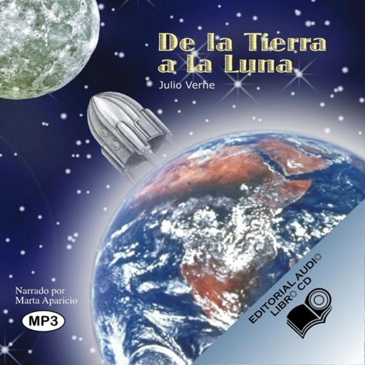 De la Tierra a la Luna - Audiolibro