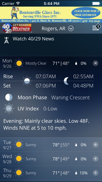 40/29 Weather - The best live, local weather. screenshot-4