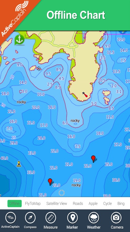 France Mediterranean HD Charts