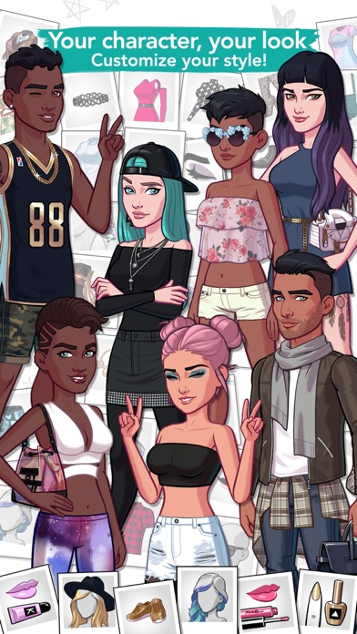 Screenshots of Kendall and Kylie for iPhone